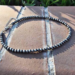Jewelry - Navajo 6mm Pearl Choker Necklace